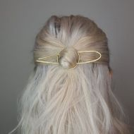 Clare Elizabeth Kilgour Brass Hair Pin